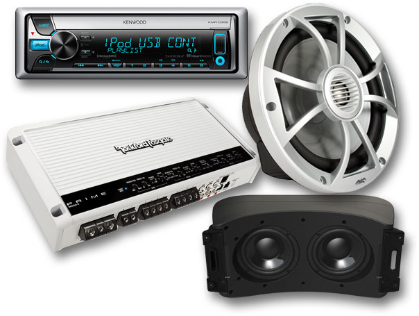 boat audio products